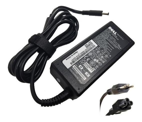 Fonte 19,5v 3,34a 65w 4.5x3.0mm Para Dell La65ns2-01 Nova !!