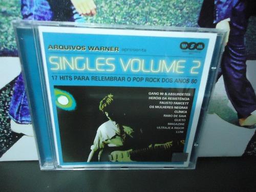 Cd Arquivo Warner Singles Vol. 2 17 Rock Nacional