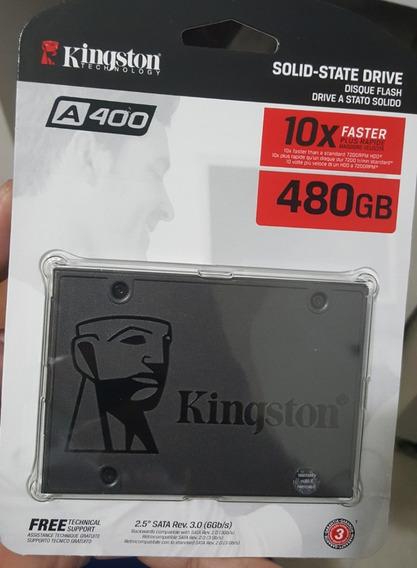 Ssd 480gb Kingston A400 Novo E Lacrado
