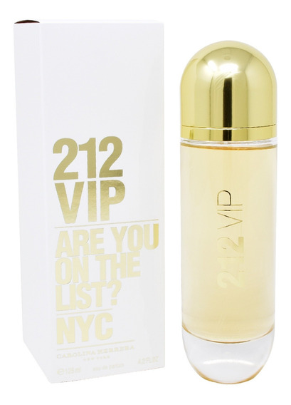 212 Vip 125 Ml Edp Spray De Carolina Herrera