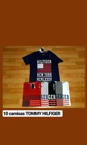 10 Camisetas Tommy Hilfiger