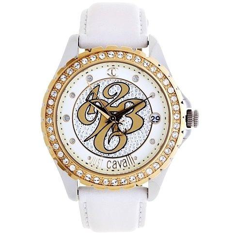 Relógio Feminino Original Dourado Pulseira De Couro Nfe