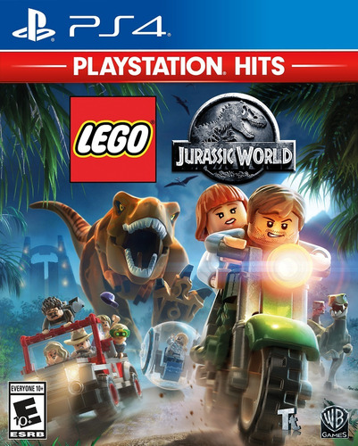 Lego Jurassic World - Ps4 Fisico Nuevo & Sellado