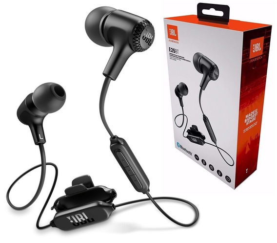Fone De Ouvido Jbl E25 Bt Bluetooth E25bt Com Microfone
