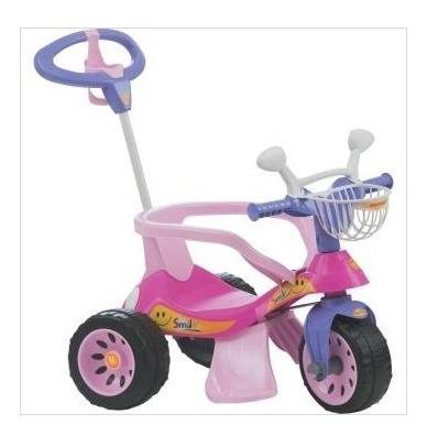 Triciclo Super Cross Rosa Biemme