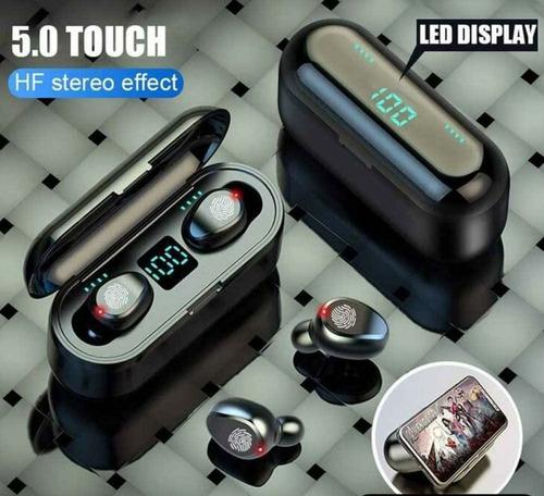Audífonos Inalámbricos Táctil Bluetooth 120 Horas Powerbank