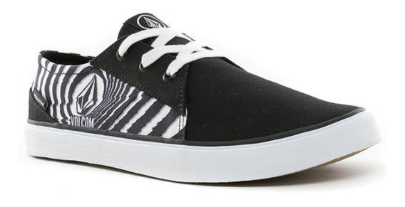 Zapatillas Volcom Lo Fi Stoney Black Originales Negras