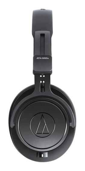 Ath-m60x Fone Ouvido Audio Technica P/ Estúdio Profissional
