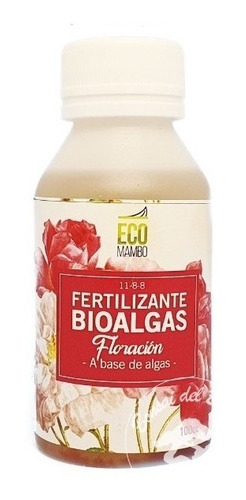 Nutriente Floración Orgánico Bioalgas Ecomambo 100ml