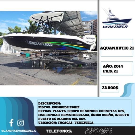 Lancha Aquanautic 21lv111