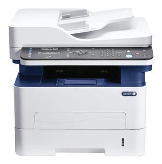 Impresora multifunción Xerox WorkCentre 3225/DNI con wifi 220V - 240V blanca y azul