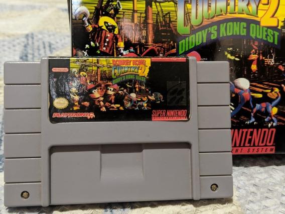 Donkey Kong Country 2 Super Nintendo