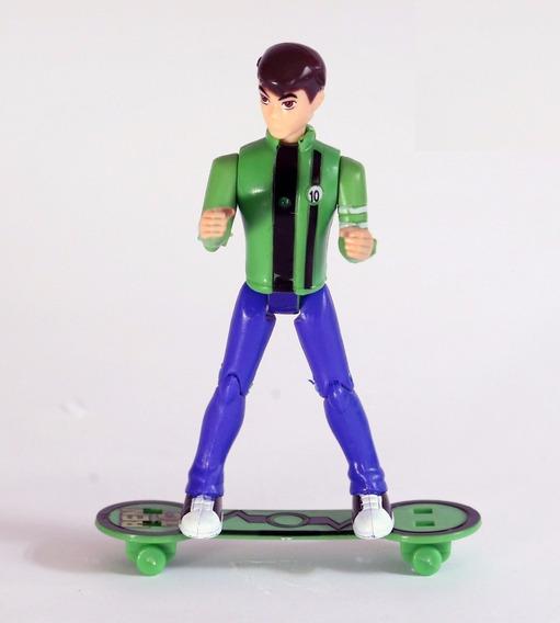 Boneco Ben10 Coleção Ben 10 Aliens Com Skate Brinquedo