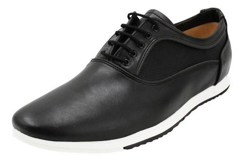 Imagen 1 de 8 de Zapato Vestir Formal Azul Café Negro Hombre Oficina (050)
