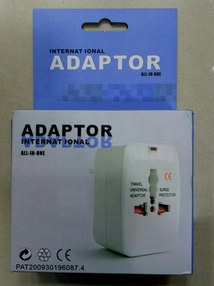 Adaptador Para Todos Os Tipos De Tomadas Do Mundo