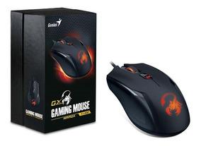 Mouse Genius X1-400 Gx Gaming Ammox 3200dpi Preto