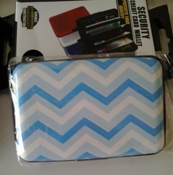 Cartera De Aluminio Aluma Wallet Modelos Estampados