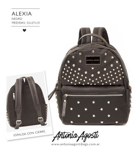 Mochila Alexia Antonia Agosti - Son Guapas