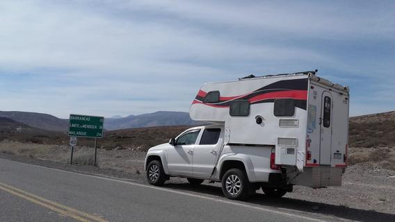 Camper Muy Bueno Para Camioneta, Doble Cabina, Tipo Amarok,