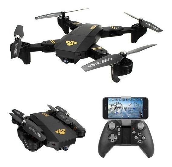 Drone Visuo Xs809hw Câmera 480p Wifi Xs809 Pronta Entrega
