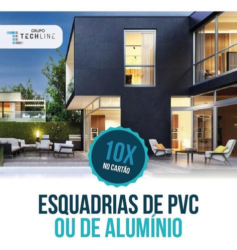 Imagem 1 de 10 de Instalação De Alumínio, Vidro E Pvc Possui Garantia