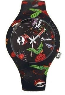 Reloj Doodle Watch Dota005- Heart Y Roses- Tattoo
