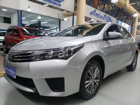 Toyota Corolla Gli 1.8 Flex Prata 2017 (automático)