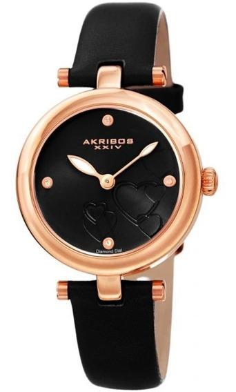 Relógio Feminino Importado Akribos Xxiv, Sob Encomenda.