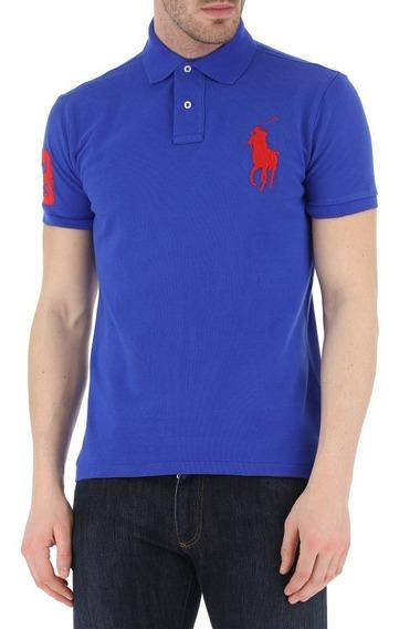 Polo Polo Ralph Lauren. Big Pony. Nueva Y Original. Azul