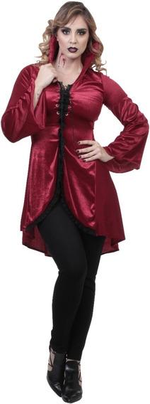 Disfraz Vampiro Night Countess Sangre Halloween Latex