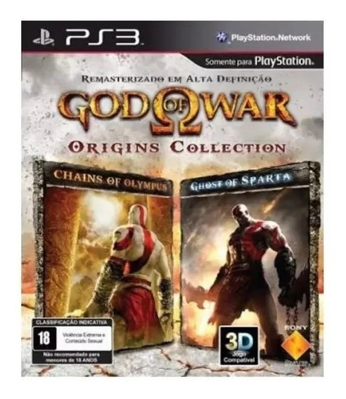 God Of War Origins Collection Jogo Ps3 Psn Envio Já