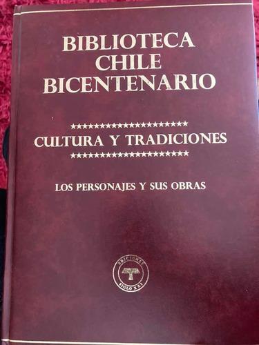 Imagen 1 de 7 de Libro Cultura Y Tradiciones De Chile Empastado, Ed. Limitada