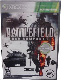 Battlefield Bad Company 2 Xbox 360 Fisico Usado