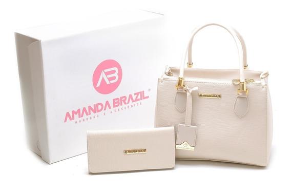 Bolsas Amanda Brazil Queima De Estoque Frete Gratis !!!