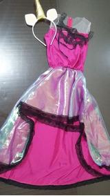 Fantasia Vestido Únicornio Super Luxo!!!