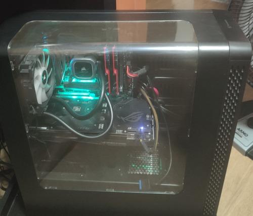 Imagem 1 de 10 de Pc Gamer  Intel I7 8700 2070 Superssd240 M2 512 Memória 16gb