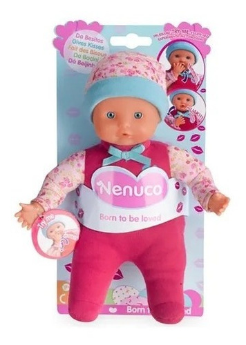 Muñeco Nenuco Da Besitos Bebé Blandito Para Niños Famosa