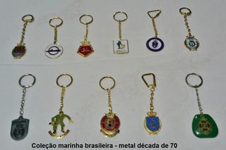 Coleção De Chaveiros - Décadas 50 A 80