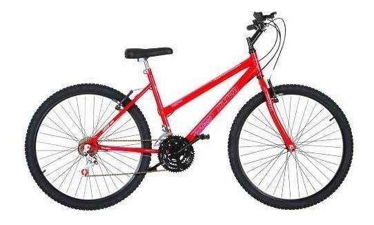 Bicicleta Aro 26 Pro Tork Ultra Freio V Break Vermelho Claro