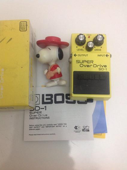 Pedal De Guitarra Boss Sd-1 70vds