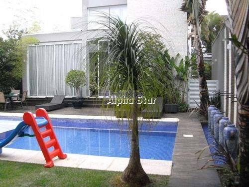 Imagem 1 de 16 de Casa Com 4 Dormitórios À Venda, 640 M² Por R$ 3.500.000,00 - Alphaville 03 - Santana De Parnaíba/sp - Ca1348