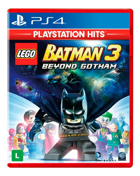 Lego Batman 3 Beyond Gotham Ps4 Disco Físico