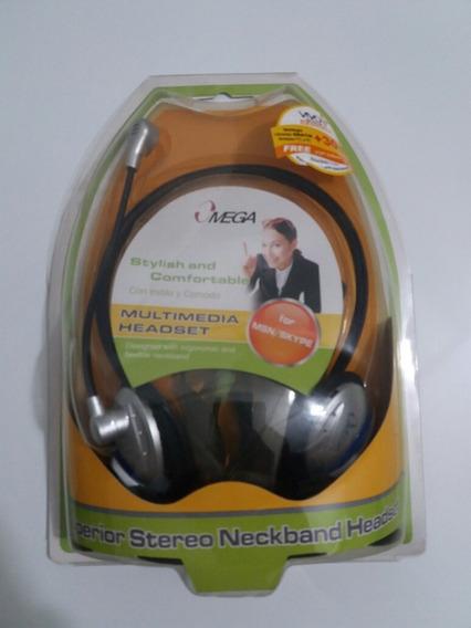 Audífono Con Microfono Omega