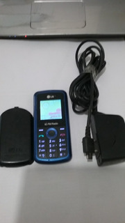 Celular Lg Kp 109 C/ Radio Fm + Ent P/ Antena Rural Vivo