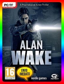 Alan Wake Pc - 100% Original Steam Key (envio Já)