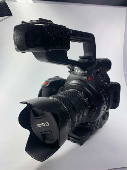 Canon C100 Mark Ii Cinema Series Completa + Lente 18 135mm