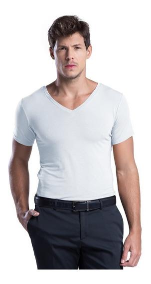 Camiseta Undershirt/ Segunda Pele Anti Suor E Odor Branca