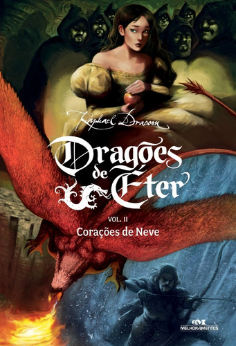 Imagem 1 de 1 de Dragões De Éter - Corações De Neve - Volume 2