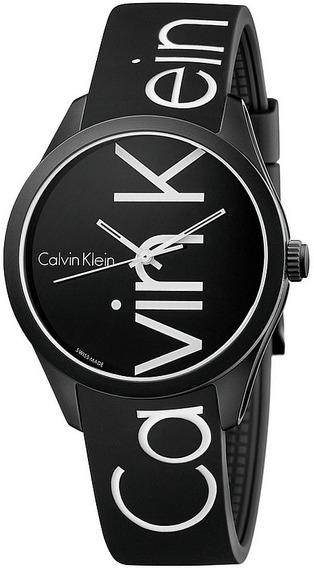 Reloj Original Dama Marca Calvin Klein Modelo K5e51tbz