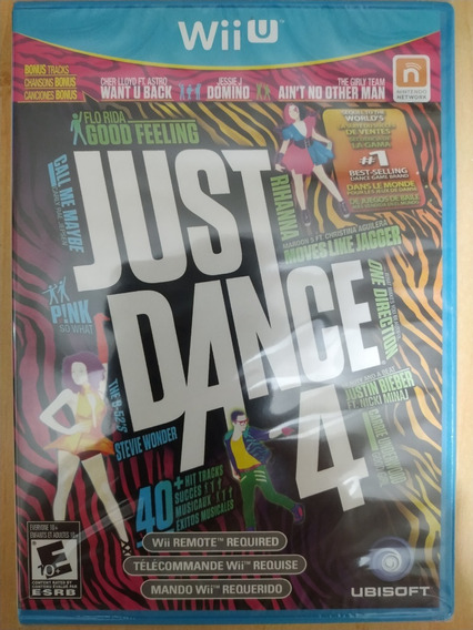 Just Dance 4 Original Novo E Lacrado Wii U